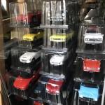『トヨタ2000GT MF10(1967)』『日産スカイライン2000GT-R KPGC10(1970)』『ホンダS800(1966)』『マツダコスモスポーツL10B(1968)』『スバル360(1958)』『日産フェアレディZ240Z(1971)』『トヨタセリカ1600GT(1970)』『日産スカイライン2000GT-R KPGC110(1973)』『トヨタスポーツ800(1965)』『ホンダシビックRS(1974)』『マツダサバンナRX-7(1978)』『トヨタスープラA70(1986)』『ダットサンブルーバード1600SSS(1969)』『いすゞベレット1600GT typeR(1969)』など…